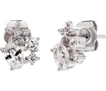 -Ohrstecker Blumen 925er Silber One Size 87753913