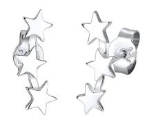 Ohrringe Sterne Astro Trend Star Sternenbild 925 Silber