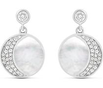 -Ohrhänger 925er Silber Perlmutt One Size 87899926