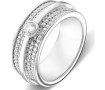 Silver-Damenring Silber 97 Zirkonia 57 32004955