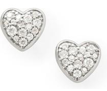 -Ohrstecker 925er Silber 0 Zirkonia One Size 86190982