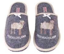 1 Stück  Gr. 36 - 37 Hausschuhe Schuhe