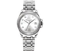 -Uhren Analog Quarz One Size Edelstahl 86937051