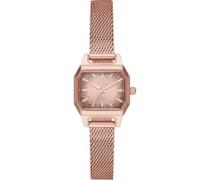 -Uhren Analog Quarz Rosé Edelstahl 32010670