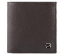 Black Square Geldbörse RFID Leder 12 cm