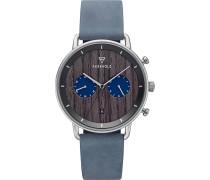 -Uhren Analog Quarz Braun 32012155