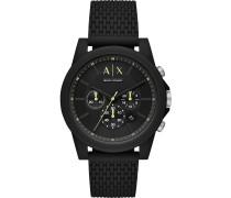 -Uhren Analog Quarz Grün Silikon 32013292