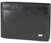 Basic Geldbörse I Leder 12 cm