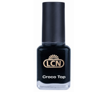 8 ml Black leather Croco Top Nagellack