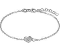 -Armband Valentin 925er Silber 22 Zirkonia One Size 87911446