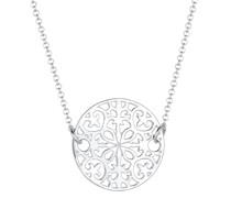 Halskette Ornament Münze 925 Sterling Silber