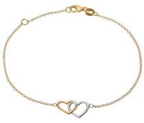 -Armband 375er Gelbgold, 375er Weißgold One Size 87377741