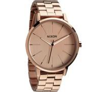 -Uhren Rund Analog Quarz One Size Edelstahl 32002744