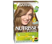 1 Stück  Nr. 63 - Dunkles Goldblond Nutrisse Creme Intensivcoloration Haarfarbe