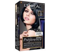 Nr. P11 - Intensives Kühles Schwarz Haarfarbe