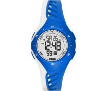 Unisex-Uhren Digital Quarz Schwarz 32015119