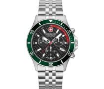 -Uhren Analog Quarz Schwarz/Rot 32012812