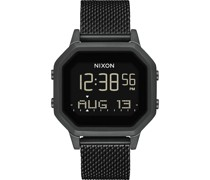 Unisex-Uhren Digital Quarz Schwarz 32011879