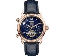 -Uhren Analog Automatik Blau 32018092
