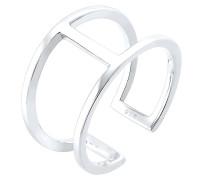 Ring Geo Minimal Trend 925 Sterling Silber