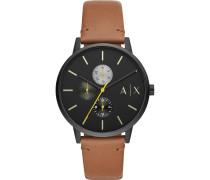-Uhren Analog Quarz One Size Leder 32012593