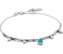 -Armband Tourqouise Bracelet 925er Silber Türkis 32014185