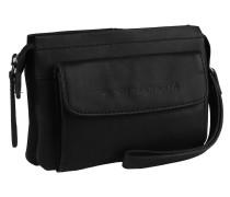 Black Label Kayleigh Schultertasche Leder 18 cm