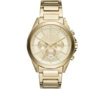 -Uhren Analog Quarz Gold Edelstahl 32000971