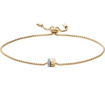 -Armband Edelstahl Glasstein One Size 88237048