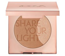 Bronzer + Highlighter Gesichts-Make-up Silber