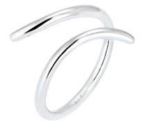Ring Wickelring Statement Geo Blogger 925 Silber