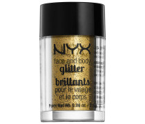 2.5 g Gold Face & Body Glitter Lidschatten