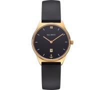 -Uhren Analog Schwarz/Gold 32015000