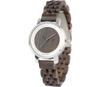 -Uhren Analog Quarz Sandelholz Holz 32015176
