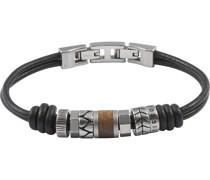 -Herrenarmband Leder One Size 84807419