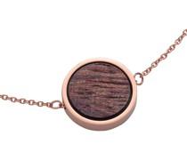 -Armband Edelstahl, Holz Gold 32014672
