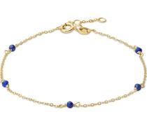 -Armband 375er Gelbgold 5 Lapis One Size 32013614