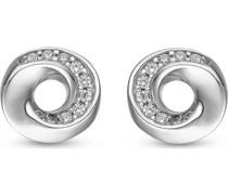 Silver-Ohrstecker 925er Silber 20 Zirkonia One Size 86735521