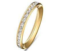 -Damenring 375er Gelbgold 0 Zirkonia 58 32004384