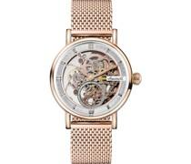 Uhren Analog Automatik Rosègold 32018089