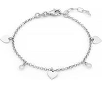 -Armband 925er Silber rhodiniert Zirkonia One Size 87711196