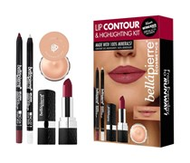Red Lip Contour and Highlighting Kit Make-up Set
