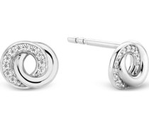 -Ohrstecker 925er Silber 22 Zirkonia One Size 88015398