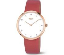 Boccia-Uhren Analog Quarz Rot 32013703
