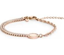 -Armband Edelstahl 81 Zirkonia One Size 87780023