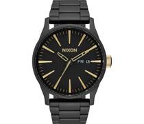 -Uhren Analog Quarz One Size Edelstahl 87879682
