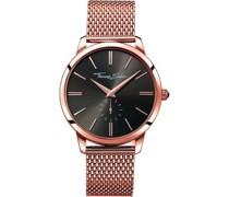 -Uhren Analog Quarz One Size Edelstahl 86304163