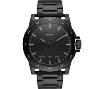 -Uhren Analog Quarz Schwarz/Schwarz 32012426