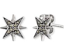 -Ohrstecker Stern 925er Silber One Size 87847411
