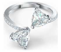 -Damenring ATTRACT SOUL RING Metall, Metall -Kristall 50 32012297